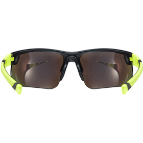 UVEX Sportstyle 221 Glasses black mat yellow/yellow